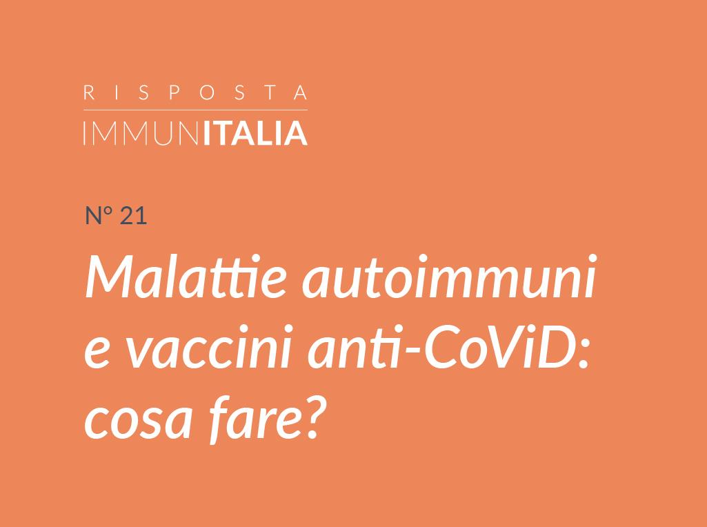 vaccino e malattie autoimmuni