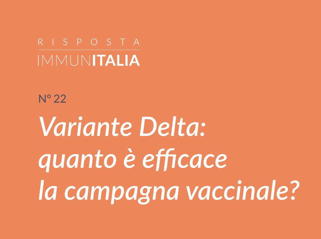 Variante Delta e vaccino antiCoVid